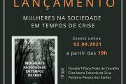 Lançamento do e-book MULHERES NA SOCIEDADE EM TEMPOS DE CRISE